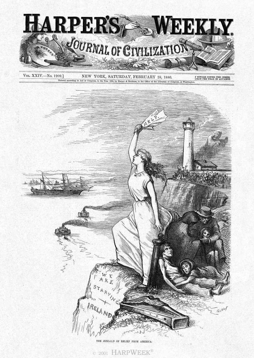 """The <I>Herald</I> of Relief from America"""